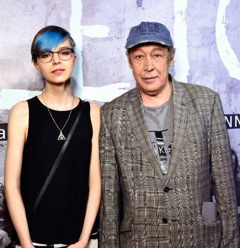 Михайло Єфремов із донькою