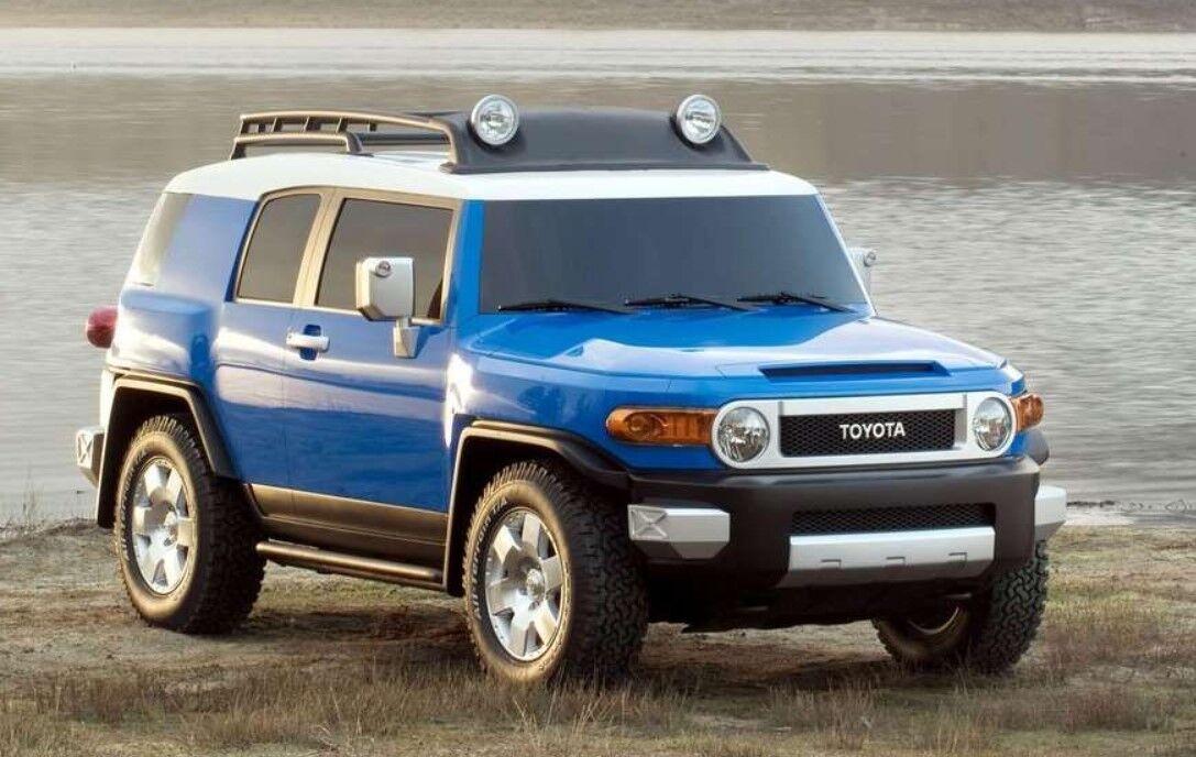 Toyota FJ Cruiser может вернуться в виде нового Prado 2022