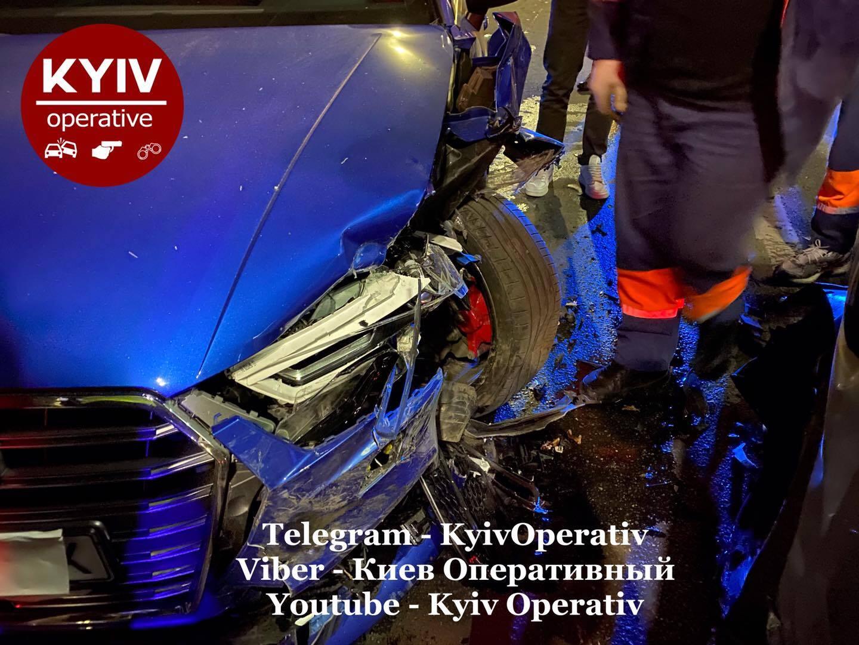 Известный киевский хирург устроил пьяное ДТП
