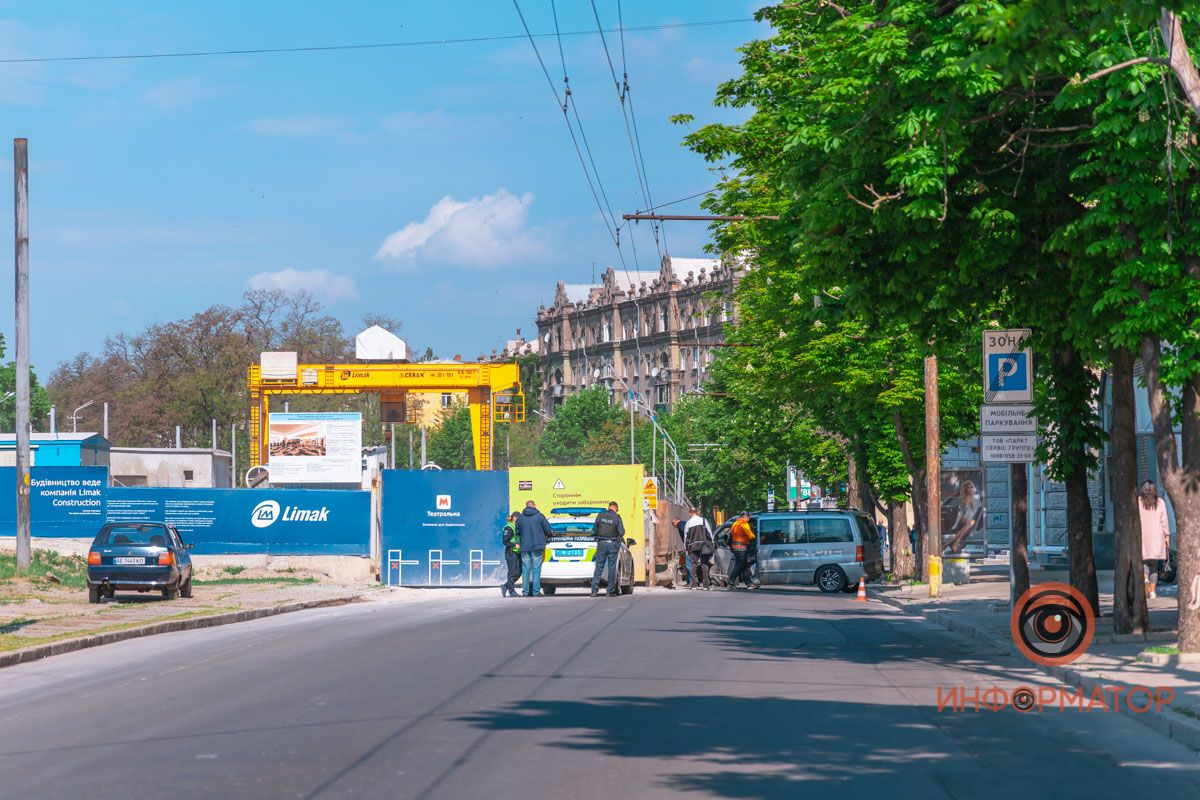 ДТП в центрі Дніпра