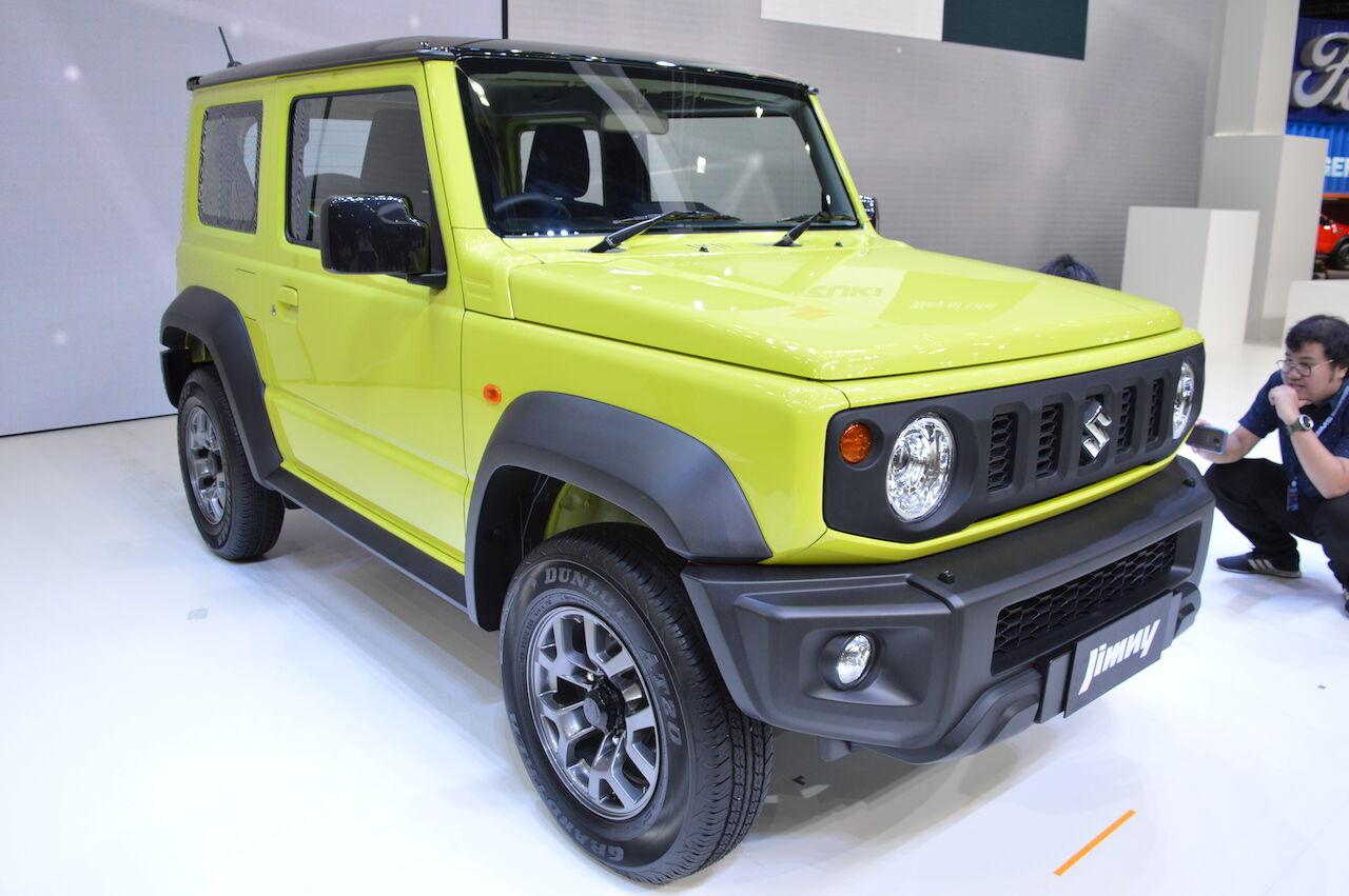 Обычный Suzuki Jimny