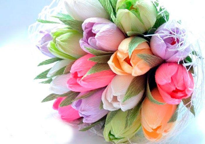 Букет своїми руками на День матері