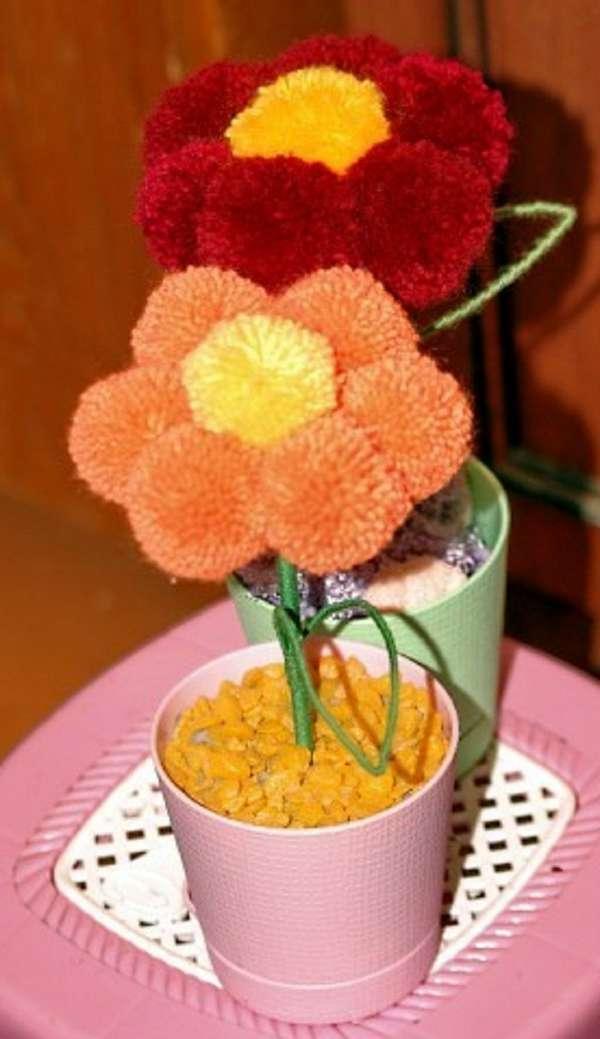 Квіти з помпонами