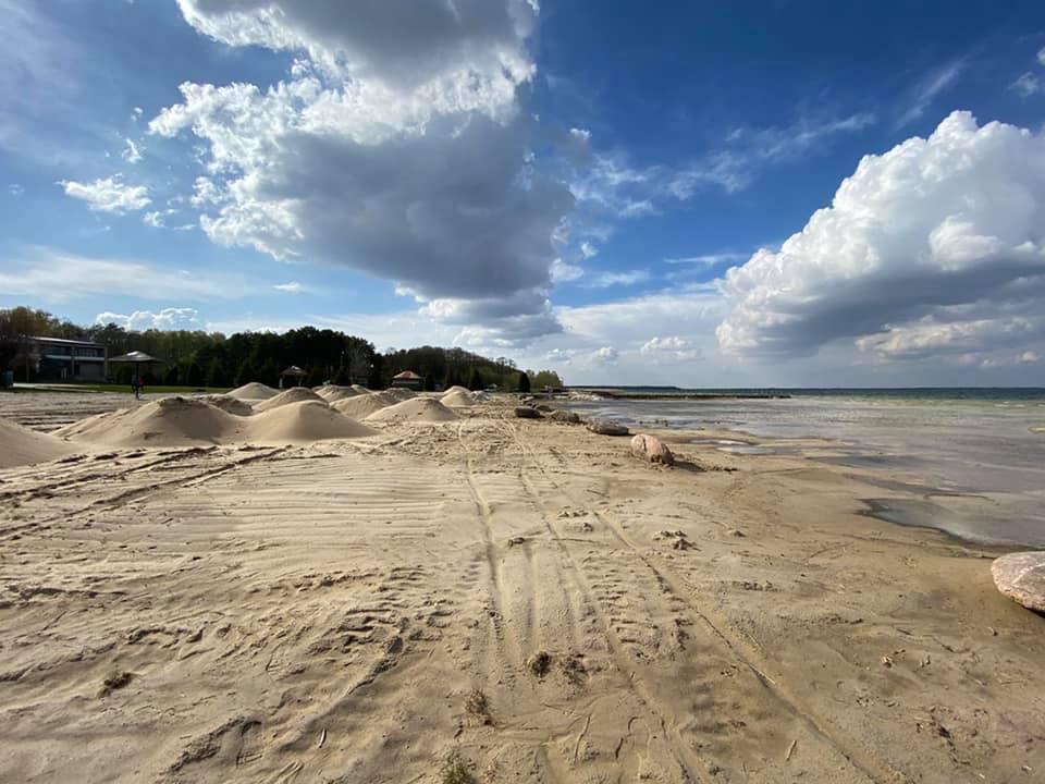 Озеро Свитязь в Украине обмелело