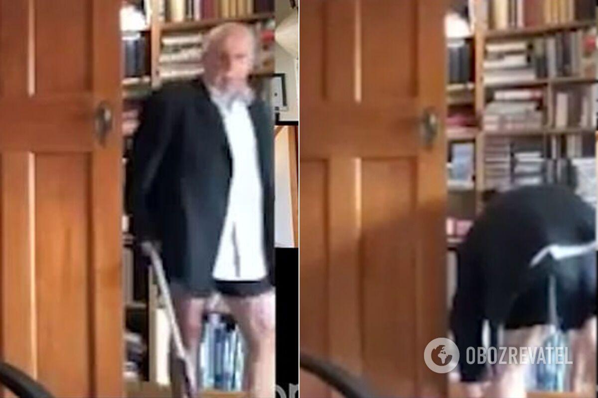 У Новій Зеландії чиновник потрапив на камеру без штанів