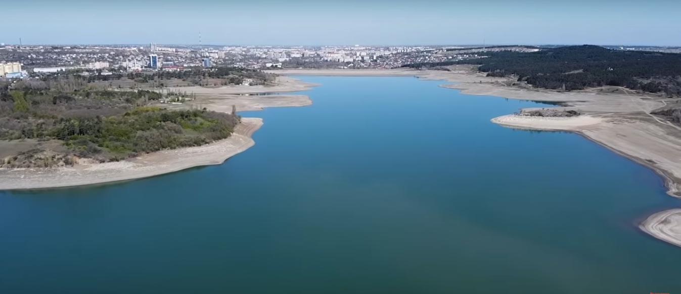 Симферопольское водохранилище в лучшие времена