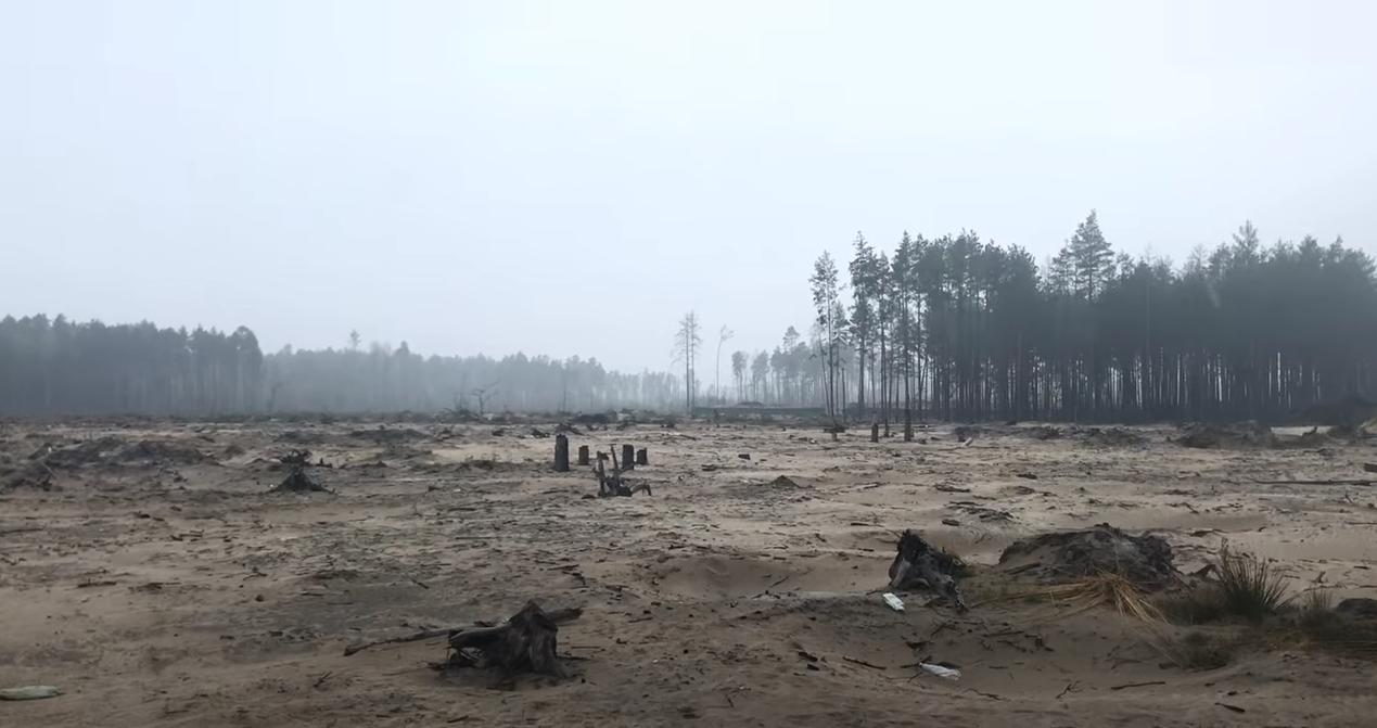 На Рівненщині знайшли джерело піщаних бур, які накрили Україну