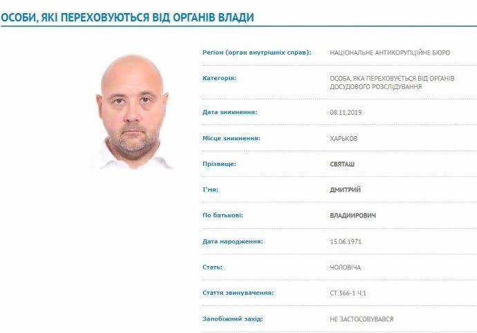 Экс-регионал и автоолигарх Святаш попросил убежища у России – СМИ