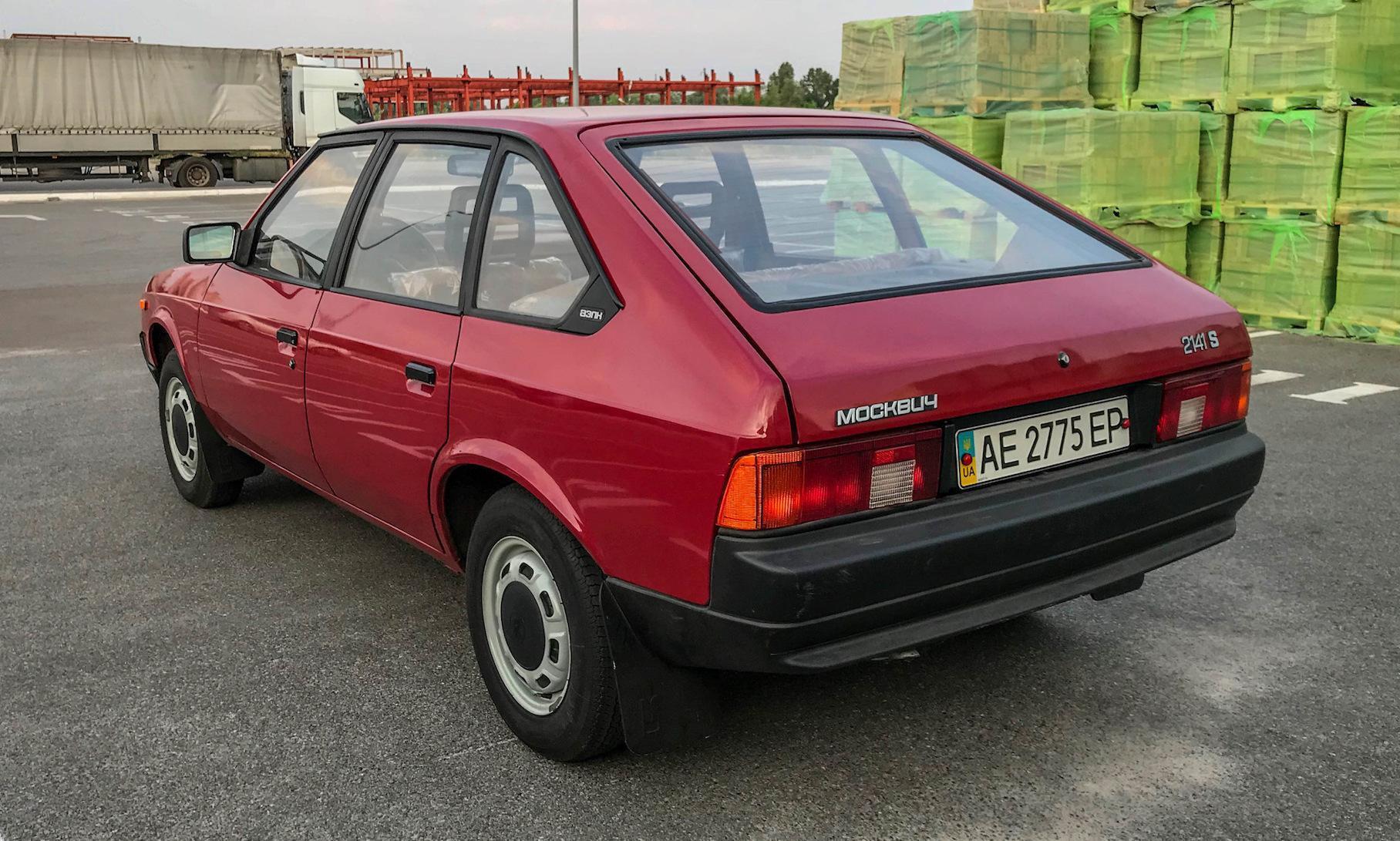 Новый Москвич 1990 года