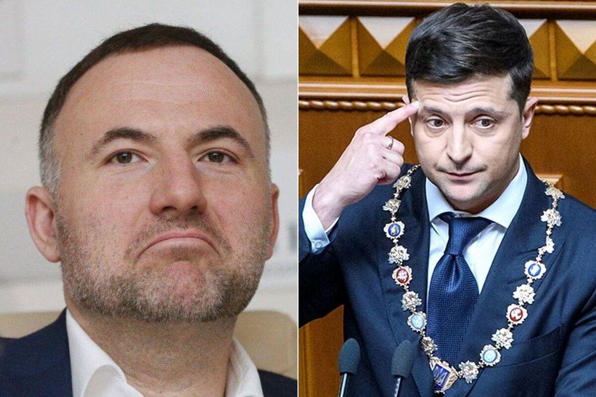 Одіозний олігарх Павло Фукс і президент України Володимир Зеленський