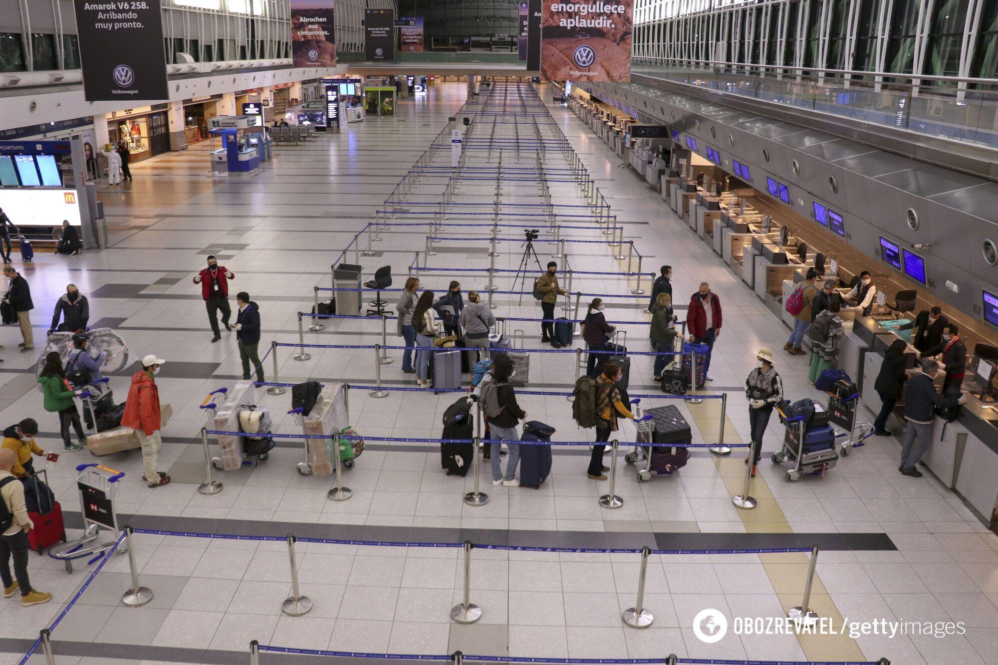 В аеропортах Туреччини також точково пускають рейси