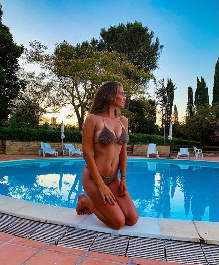 Тенісистка і переможниця конкурсу Міс Італія Сюзанна Джованарді ...