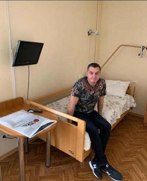 Дядя Жора потрапив до лікарні з інсультом