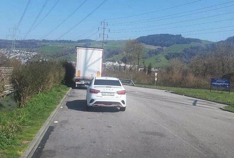 Lada Vesta Sport в Швейцарии