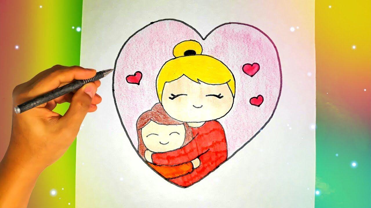 Рисунок ко Дню матери