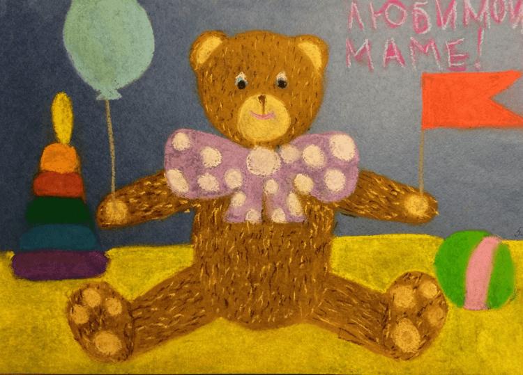 Пример рисунка для мамы