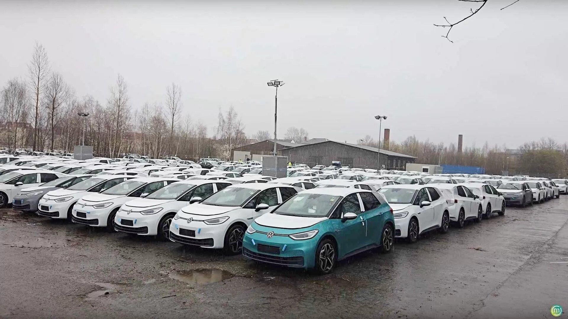 """""""Кладбище"""" новых Volkswagen ID.3"""