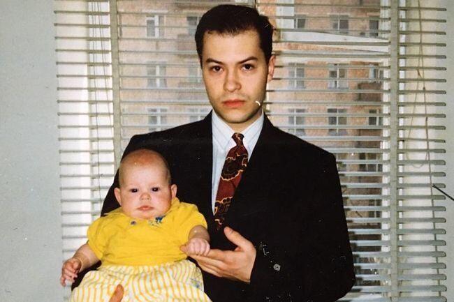 Федір Бондарчук з сином