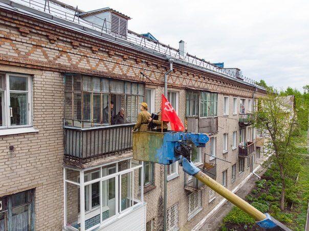 Акція до 9 Травня в Новосибірську