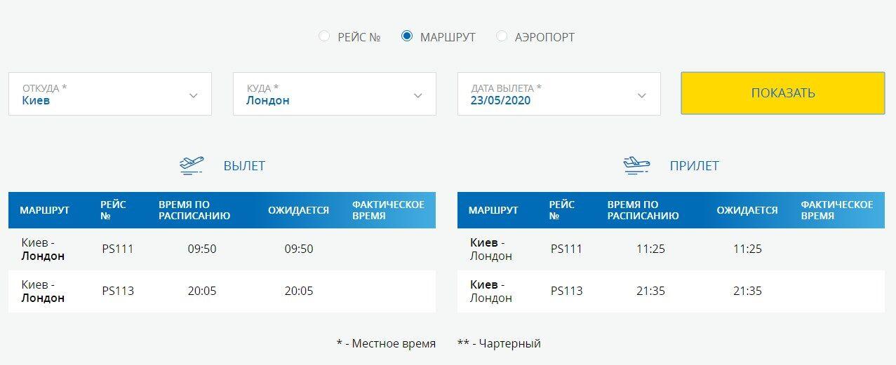 В Україні почали продавати квитки в чотири країни: дати і напрямки