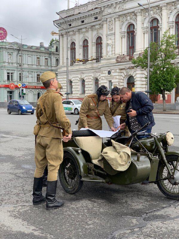 Автопробег в Харькове на 9 мая