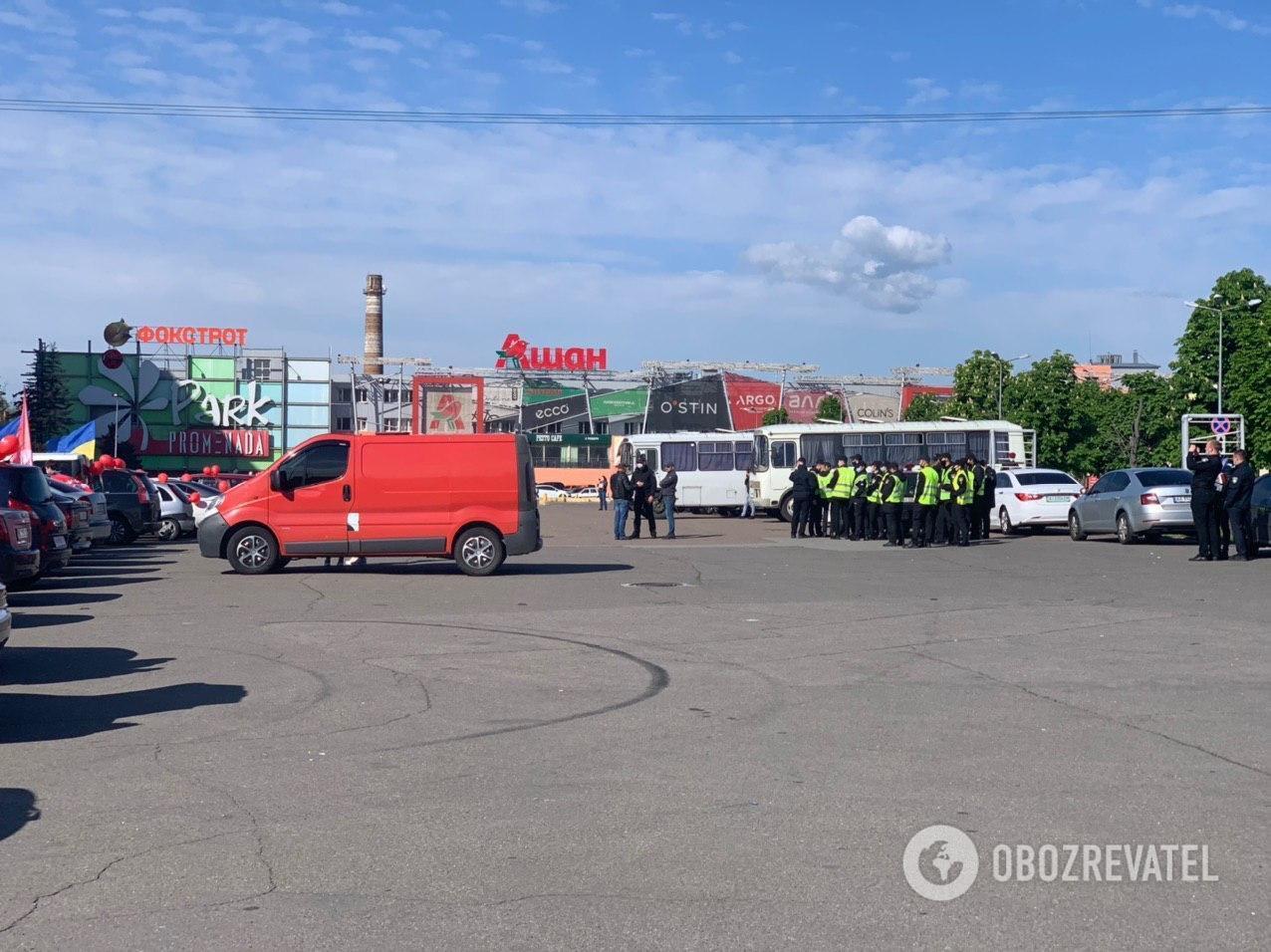 Партія Шарія влаштувала автопробіг у Києві