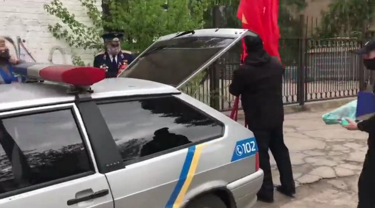 Пенсионер устроил скандал на 9 мая в Мелитополе