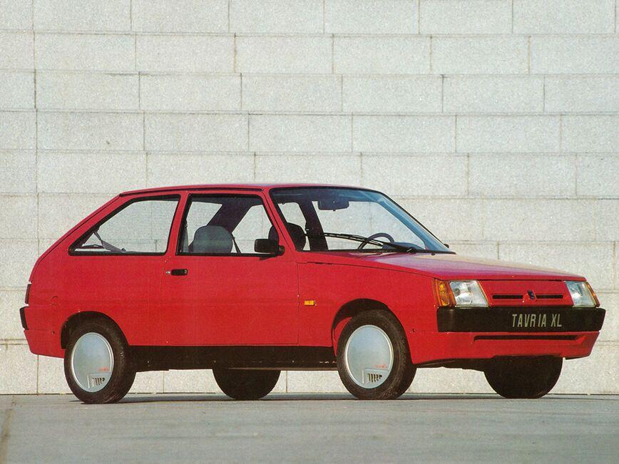 Poch Tavria XL — экспортный вариант ЗАЗ-1102 для Франции