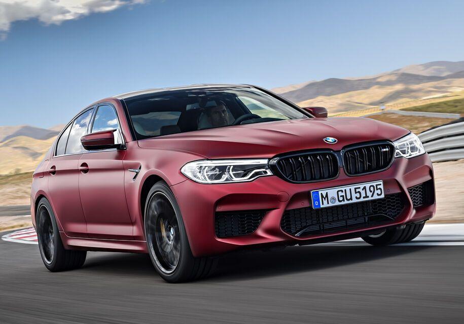 BMW M5 актуального поколения