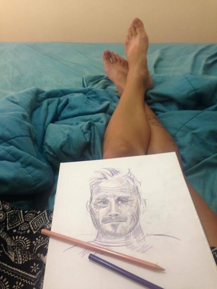Рисунки Оли
