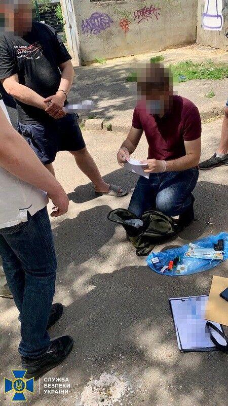 Задержание российского шпиона в Харькове