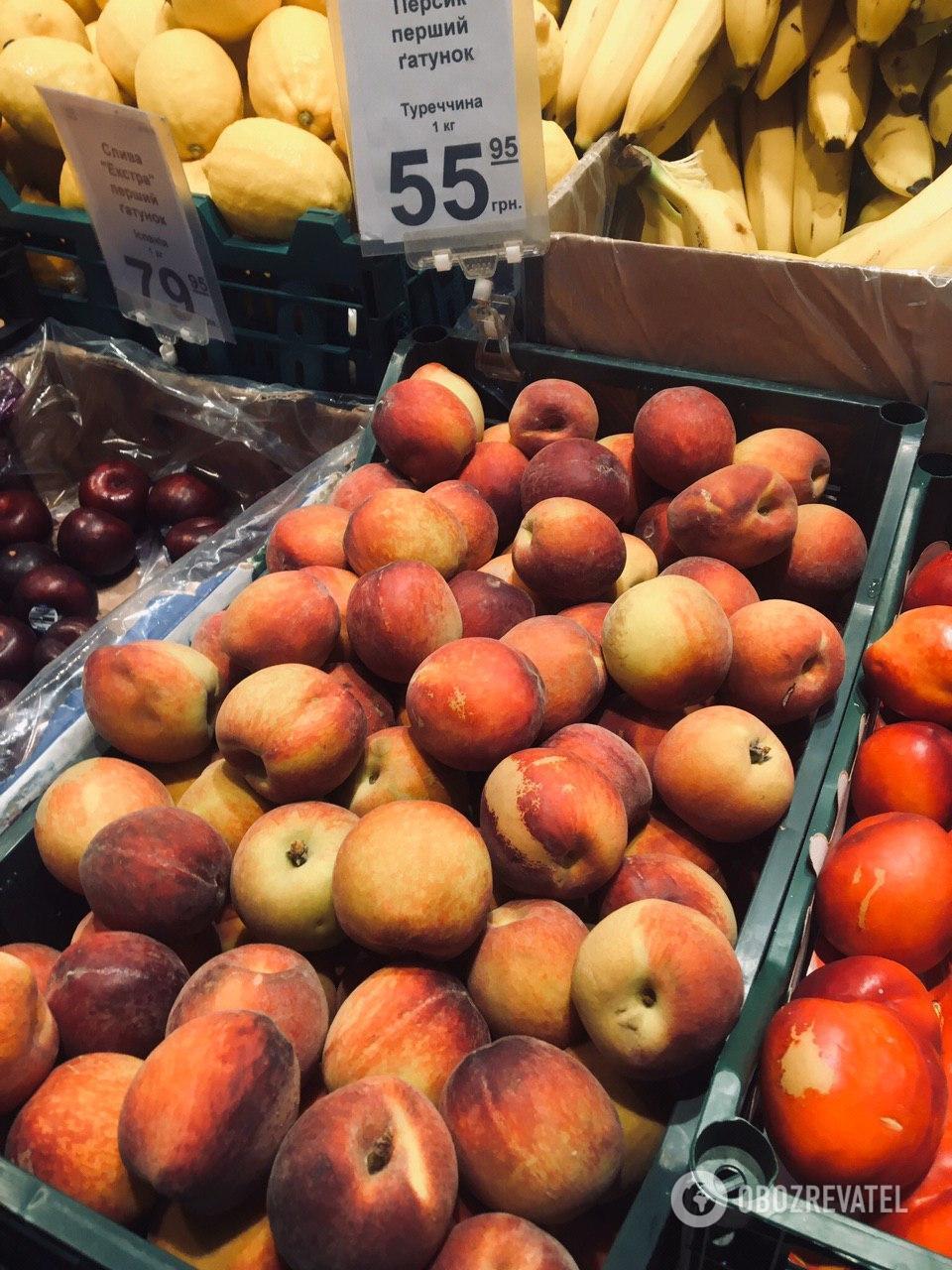 Персики - от 55 гривен