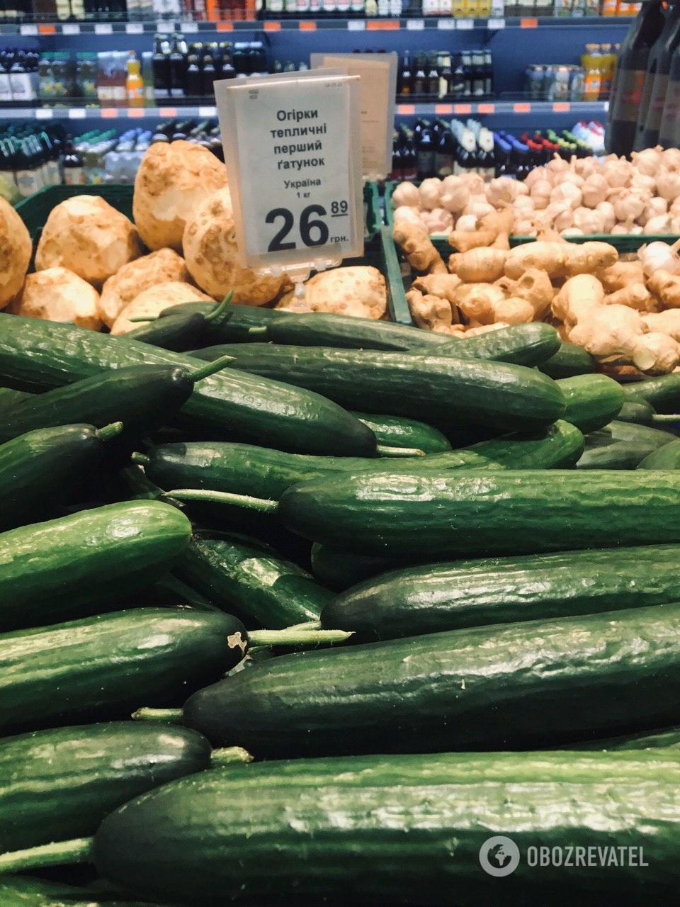На рынках данный овощ дешевле