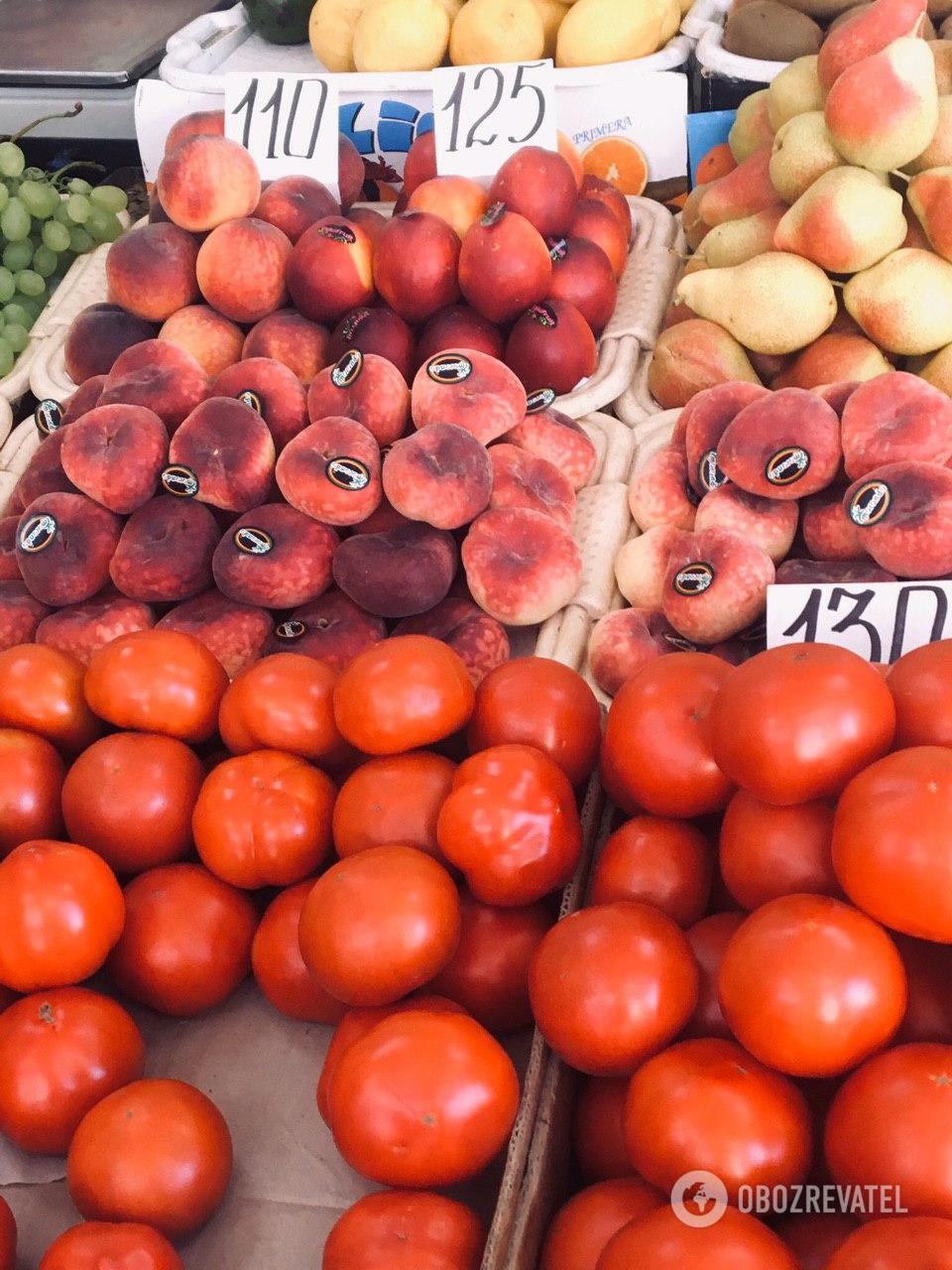 Цены на фрукты выше, чем обычно