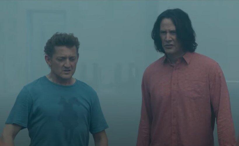 "Кадр из фильма ""Билл и Тед"""