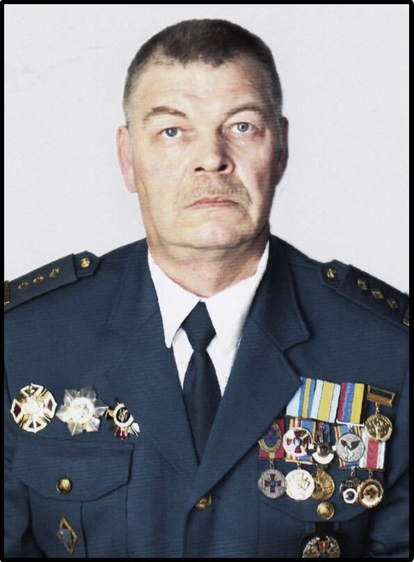Полковник ЗСУ Романов Микола