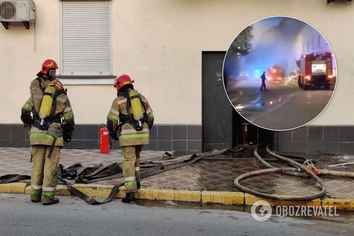 В ГСУ произошел пожар