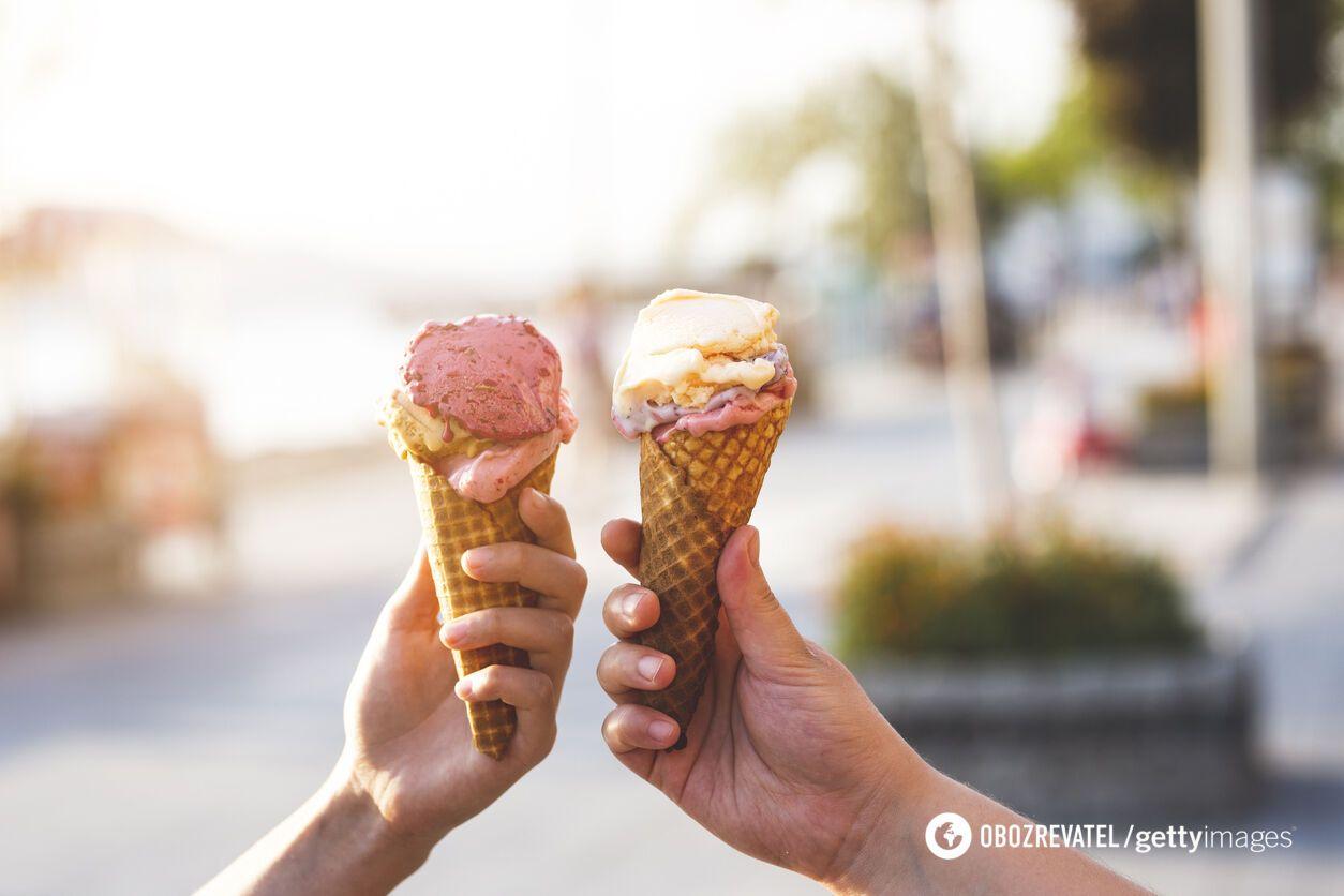 Морозиво дає миттєву енергію