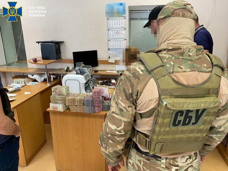 В Одессе разоблачили конвертационный центр