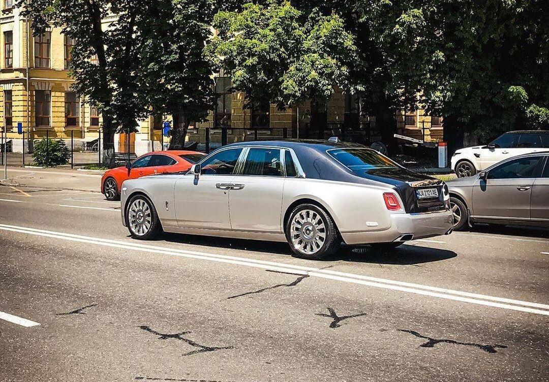 Новый Rolls-Royce Phantom в Киеве. Июнь 2020