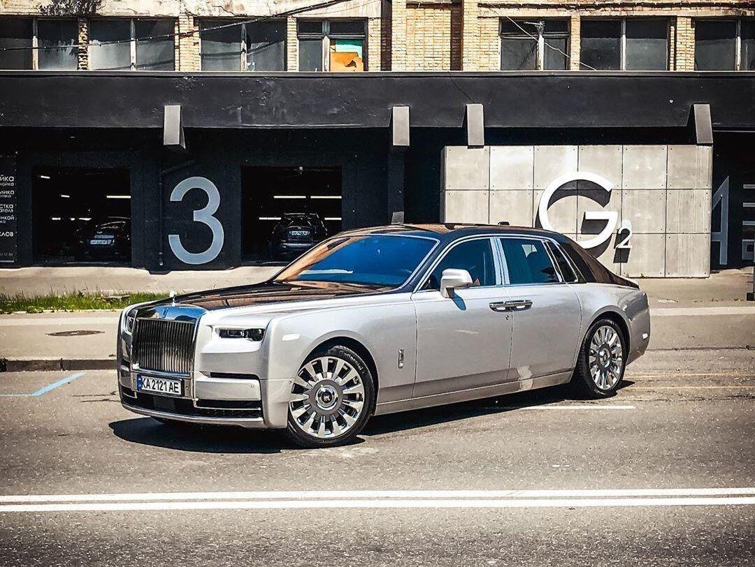 Новий Rolls-Royce Phantom в Києві. Червень 2020