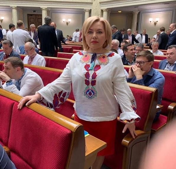 Оксана Білозір в Раді