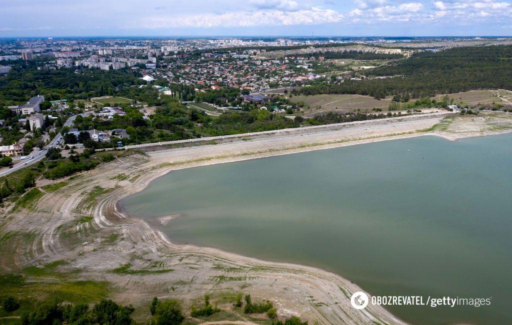 На сегодняшний день оккупанты истощили ресурсы воды в Крыму