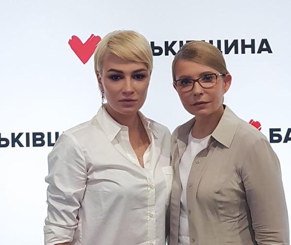 Анастасія Приходько і Юлія Тимошенко