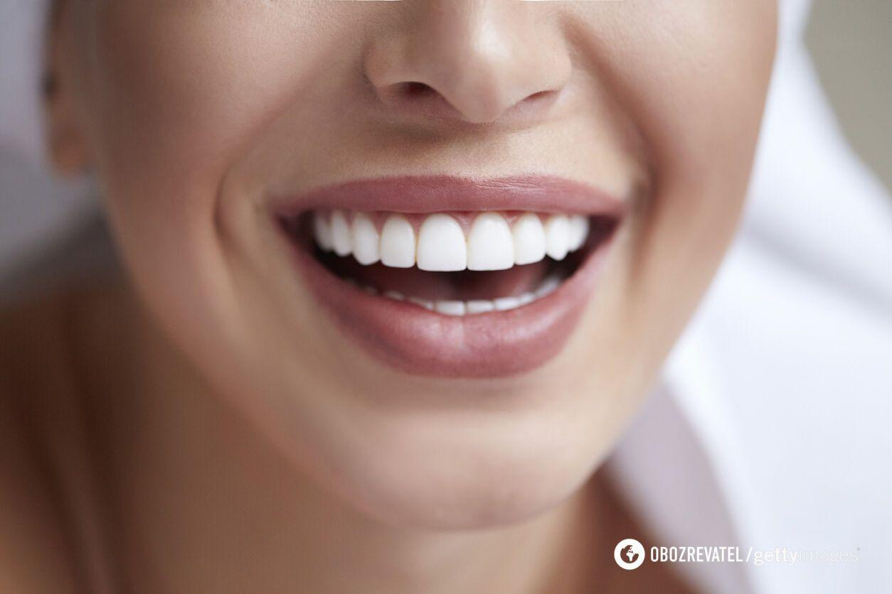 Отсутствие сахара позитивно влияет на улыбку