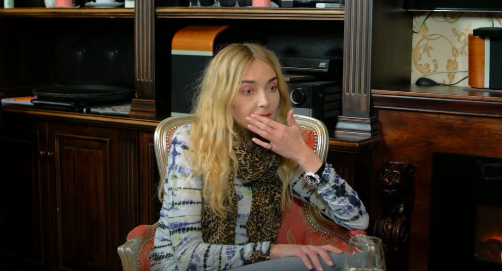 Снежана Онопко во время интервью