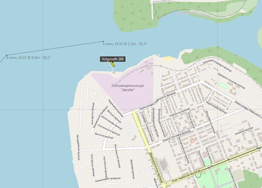 Україна пускає до себе російські танкери