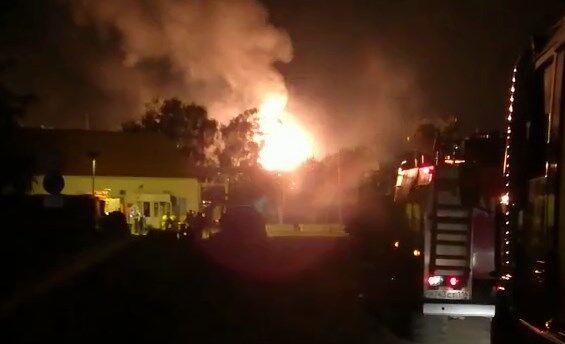 В Казани произошел взрыв в газохранилище