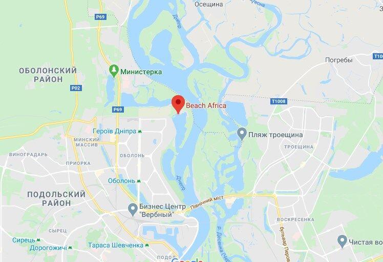 В Киеве утонул ребенок на популярном пляже