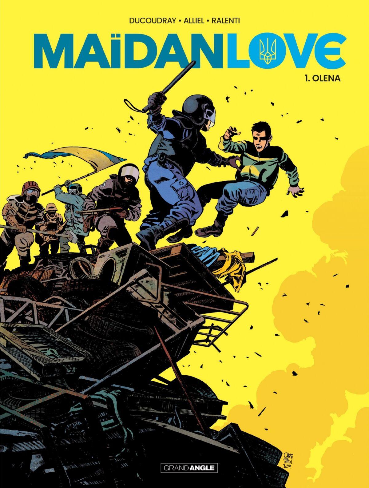 Сборник комиксов Maїdanlove, обложка, часть 1